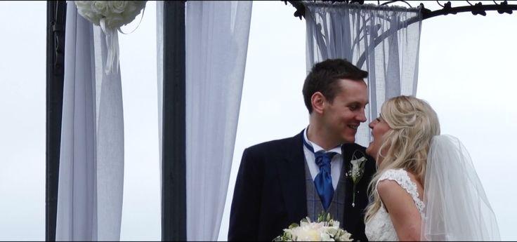 We love this still from Amy & Mark's wedding trailer we shot. #weddingvideographer #weddingvideo #weddingfilm