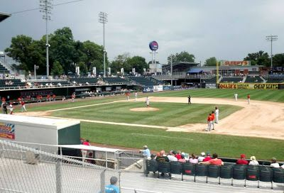 8 Fun Things to See and Do in Harrisburg Pennsylvania - Afternoon fun at a Harrisburg Senators Baseball Game