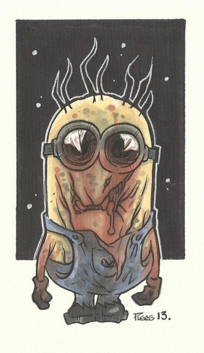 Zombie Minion - Despicable Me - Piers Hazell