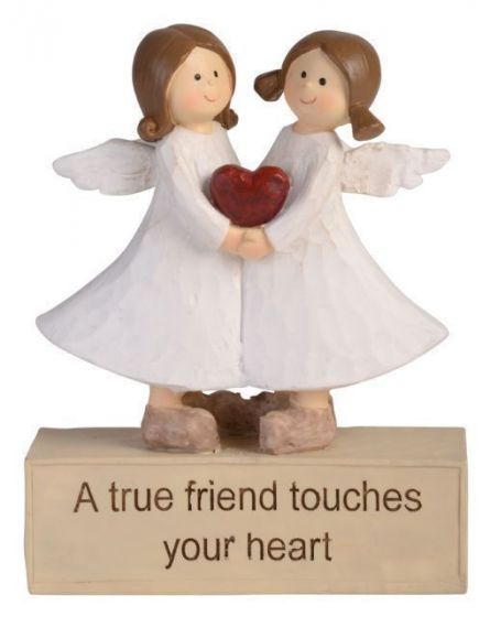 Adoring Angel Figurine - True Friend