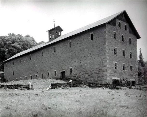 This Shaker Built Barn At Mount Lebanon Was Once The