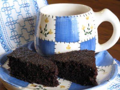 bolo de chocolate sem leite, em 6 minutos