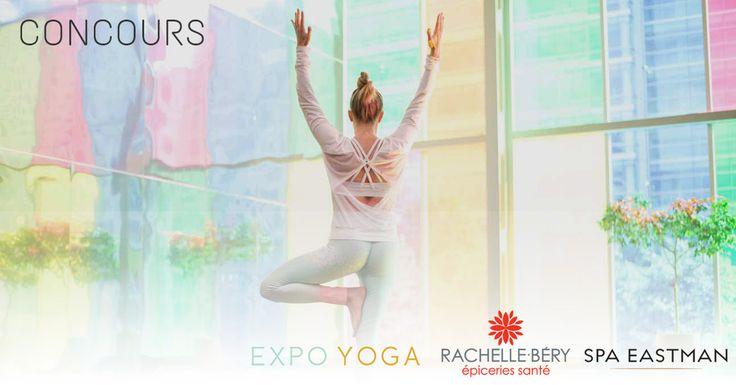 Offrez-vous bien-être et détente pour la rentrée en participant à notre concours ci-dessous. Expo Yoga et ses partenaires Rachelle-Béry…