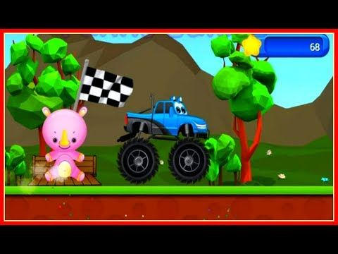 (22) Kids Monster Trucks Action Racing Games🌟Funny Games for KIDS - YouTube