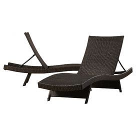 haage sidempuan adjustable chaise lounge set of 2