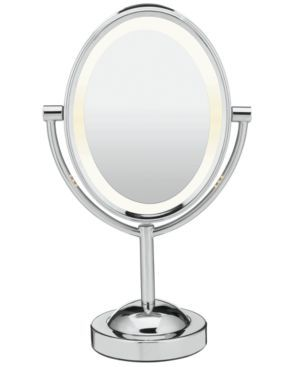 Conair, 7x Magnified Lighted Makeup Mirror, Chrome