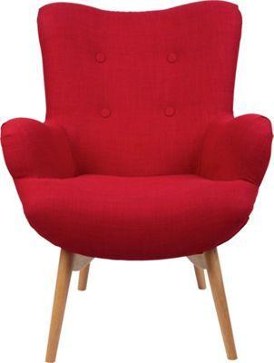 Aktuelle Wohnzimmertrends setzen auf zurückhaltende Formen und Farben. So sind es oft nur einzelne Glanzstücke, die minimalistisch eingerichtete Räume herausstellen. Einen solchen Akzent bildet dieser Sessel, der in Ihrer Chill-Out-Lounge zu einem echten Highlight wird. Weder Farb- noch Formgebung ist hier puristisch. So begeistert dieser Sessel durch geschwungene Linien, runde Kurven und auffällig dicke Schaumstoff-Polster. Das ist der Retro-Look in seiner schönsten Form! Die 4 Zierknöpfe…