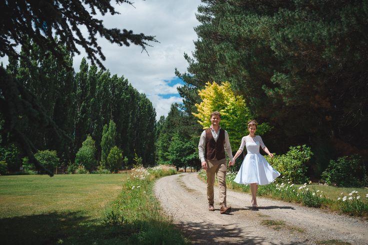 Vestido de novia corto. Delia Medina.  PH samantacontin.com Short wedding dress