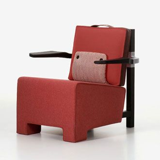 HELLA JONGERIUS - The Worker Armchair