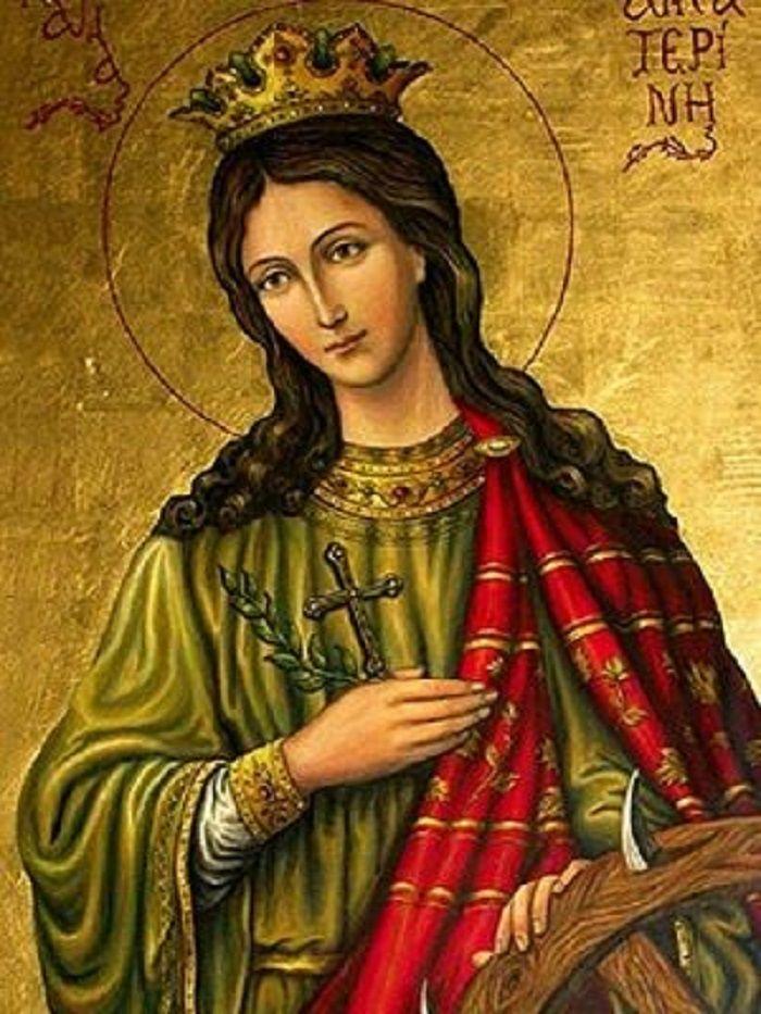 Η Τελευταία προσευχή της Αγίας Αικατερίνης λίγο πριν την αποκεφαλίσουν(Διαβάστε την να έχετε την ευλογία της) | ΑΡΧΑΓΓΕΛΟΣ ΜΙΧΑΗΛ