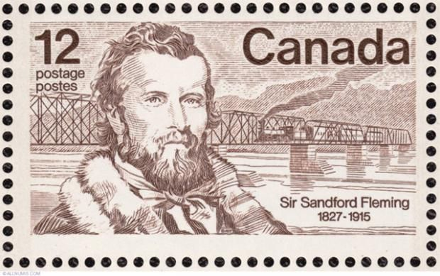 STANDARD TIME Engineer Sandford Fleming brought standard time to U.S. and Canadian railways in 1883. Time zones became U.S. law in 1918 and were accepted worldwide by 1929. It was about time.