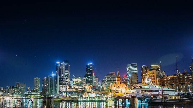 a night of Sydney, Australia