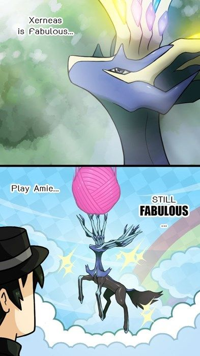 Xerneas is Always Fabulous (plus he and Sylveon are the only fairy types that are really cool)