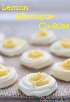 Lemon Meringue Cookies #grainfree #paleo - safe to eat when you use @SafeEggs!