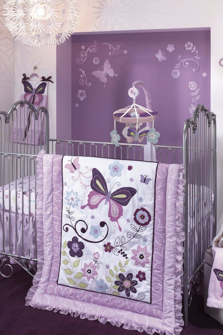 Butterfly Nursery Ideas That Will Make Your Heart Flutter Girl Nursery Bedding Baby Girl Nursery Themes Baby Crib Bedding Sets