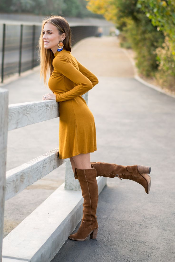Mustard | Angela Lanter | My Fashion Style | Thigh high ...