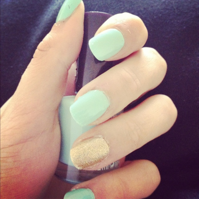 Mint Green Prom Nail: 61 Best Images About Nails On Pinterest