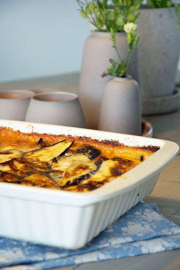 Vegetar Moussaka opskrift - Virkelig lækker og nem moussaka