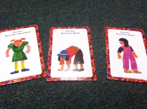 Eric Carle's From Head To Toe Game