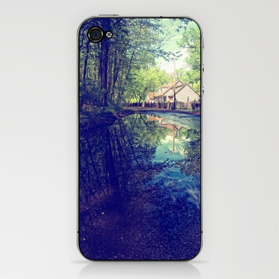Country Lane Reflections iPhone & iPod Skin by Laura George - $15.00: Ipod Skin, Iphone Ipod