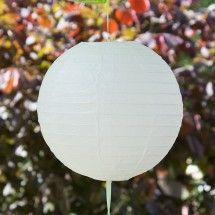 Lampion weiß Ø 20 cm
