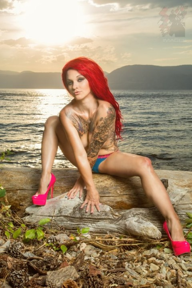 Tattoo's and pink high Heels!!: Tattoo Women, Sexy Tattoo, Ink Girls, Girls Generation, Red Hair, Girls Tattoo, Pink High Heels, Tattoo Girls, Beautygirl Tattoo