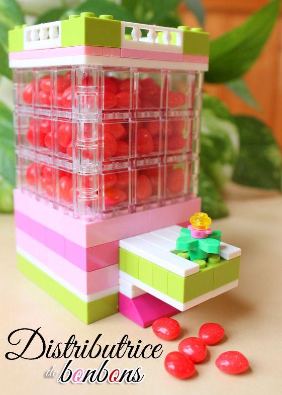Au fil des jours: Distributrice de bonbons