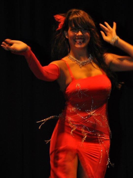 Danza del ventre, Milano. Claudia Lunetta
