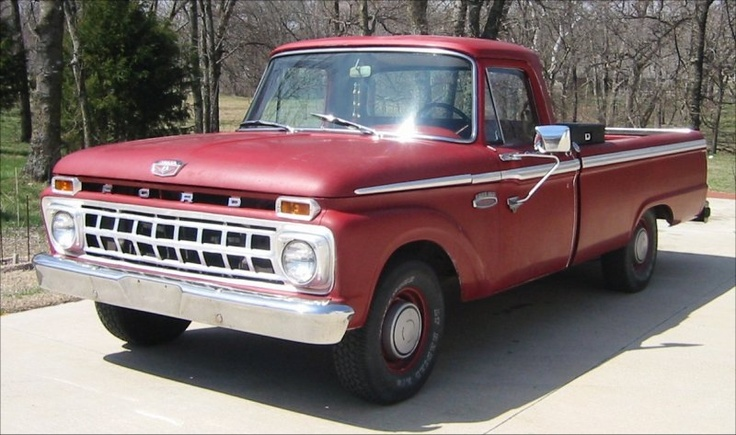 Old ford pickup truck!