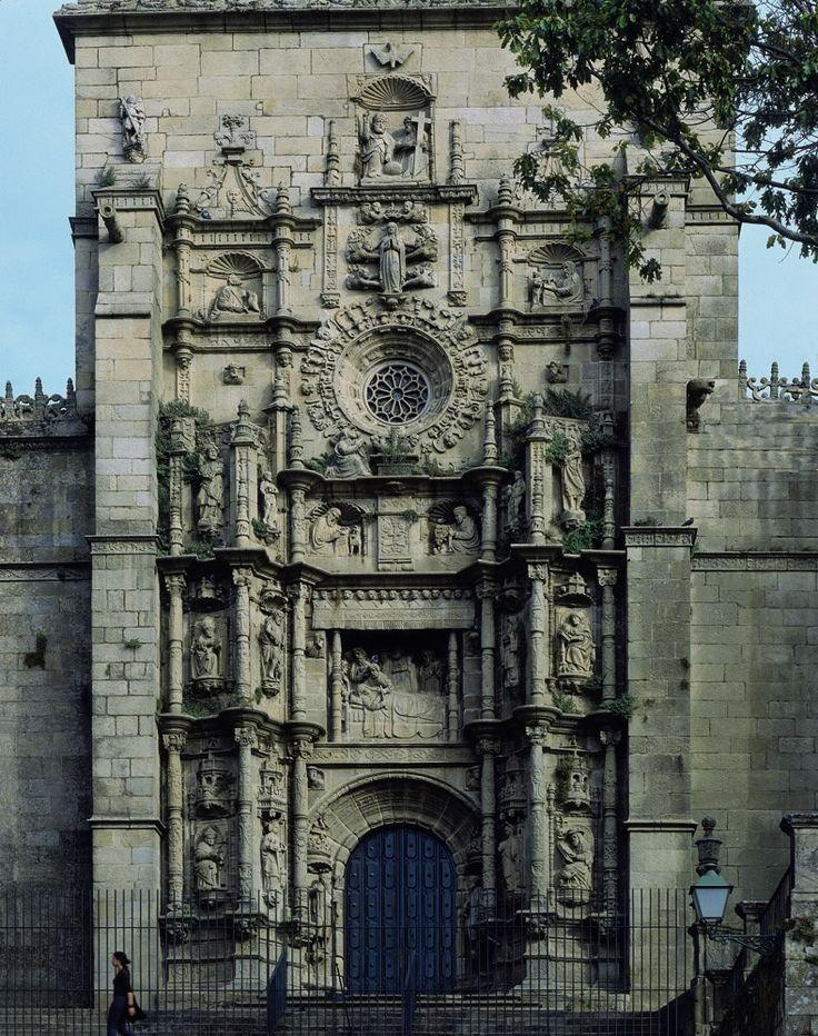 santa maria la grande pontevedra | Basílica de Santa María la Mayor de Pontevedra ...España
