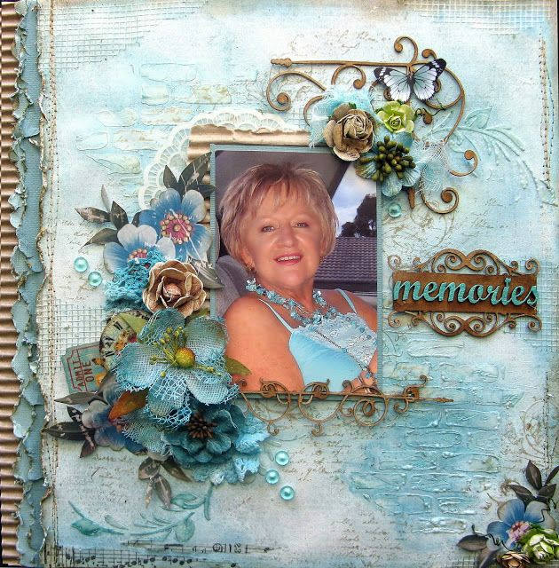 2 Crafty Chipboard : October InspirationThree Layouts to ShareBy Di Garling
