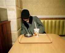 JAPAN. Tokyo. McDonald's restaurant. 2000.