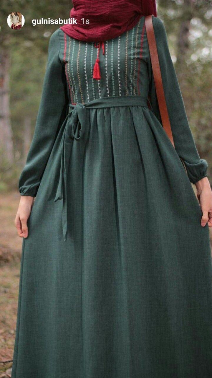 9af0dc9cedf27 Pin by AYKIZ🌙☝ on tesettür in 2019 | Elbise modelleri, Islami giyim,  Elbise kıyafetler