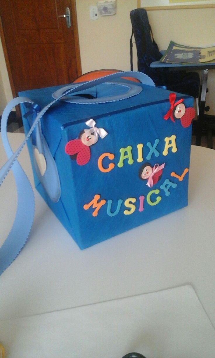 Essa é a caixa musical essencial para o trabalho diferenciado .