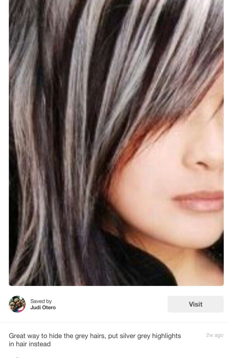 26 Solid Evidences Attending Lowlights For Gray Hair Is Good For