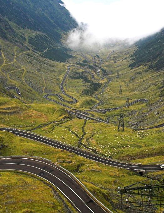 The Transfagarasan highway in Romania may be the 'Worlds Greatest Road.'