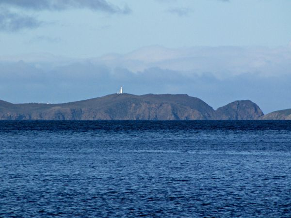 Cape Bruny Lighthouse, from #Southport #Tasmania. Article and photo for think-tasmania.com
