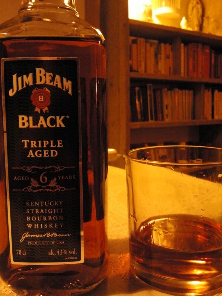 Jim Beam Black Triple Aged 43 Bourbon Whiskey Whisky