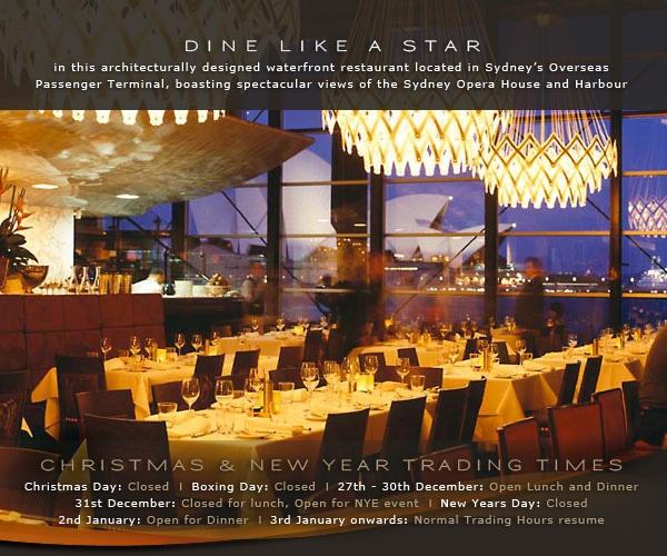 Best Restaurants Sydney   Waterfront & Seafood Restaurants Sydney - Wild Fire