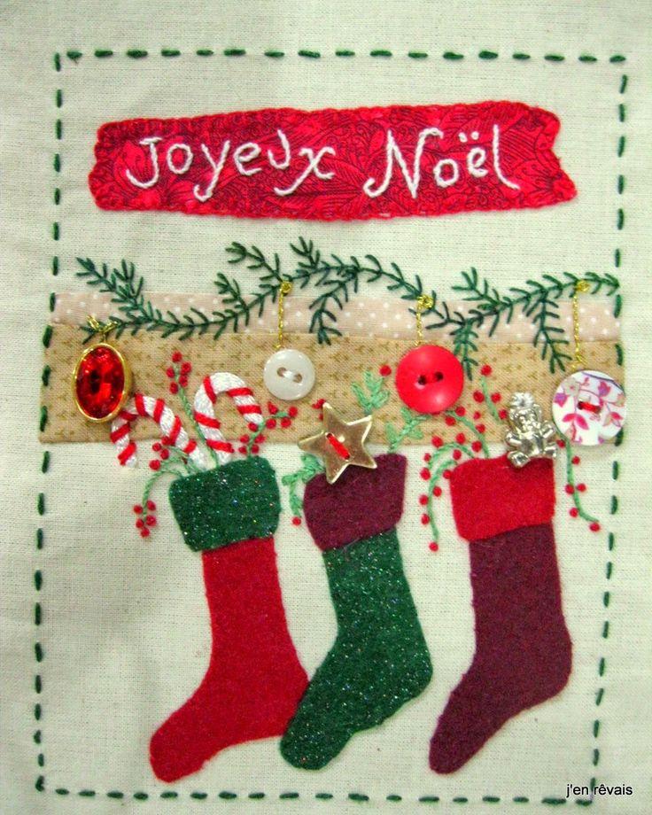 livre de Noël p 3 (modèle Scrap, Quilt and Stitch)