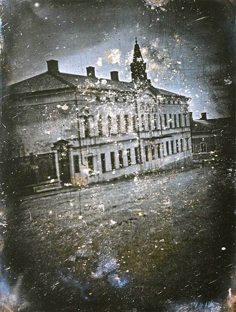 From 1842, the first photograph ever taken in Finland!