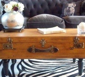 25 best ideas about table valise on pinterest table - Transformer une table en bois ...