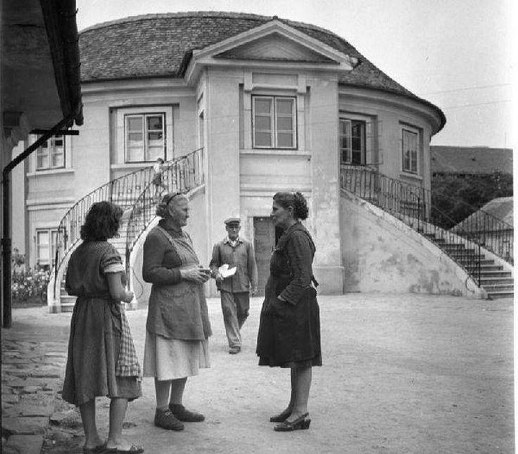 1950-es évek. Óbudai Selyemgombolyító