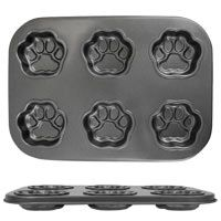 Paw Print Muffin Pan at The Animal Rescue Site