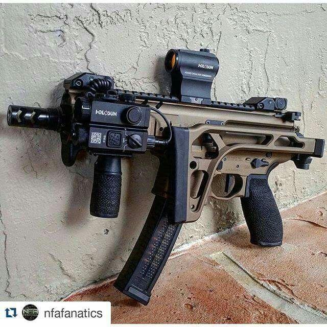 Sig Sauer MPX SBR (short barreled rifle)