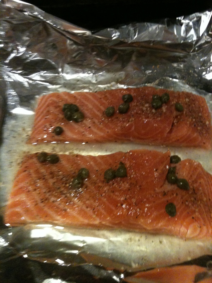 23 best salmon images on pinterest scale cucumber and poached 2 tbs white wine juice of lemon capers and paul prudhommes salmon seasoning close up in a foil packet and cook at 425 for 20 minutes until flaky ccuart Image collections