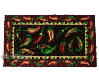 "Southwestern Door Mat - 16""""x28"""" Chili Peppers (d12)"