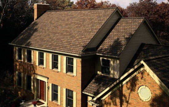 Carriage House™ Shingles - Color: Brownstone Roofing - Photo Gallery - CertainTeed Design Center