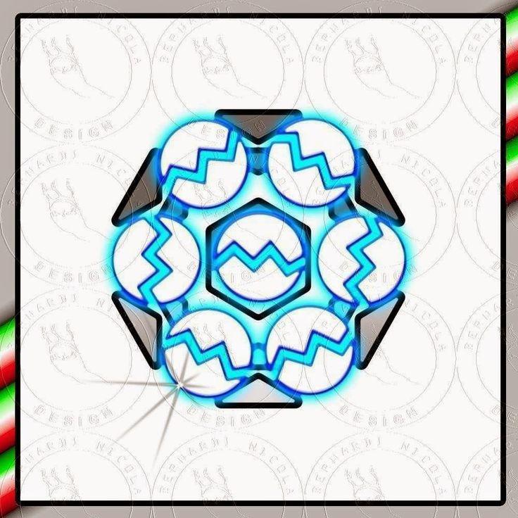 design moderno: Logo geometrico per officine meccaniche,il logo ri...
