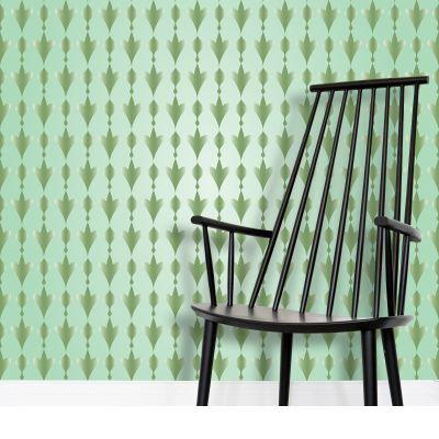 Arabic Art Pattern Wallpaper by Rizwana Khan (@RizwanaKhan) from $53.50 per m² | miPic